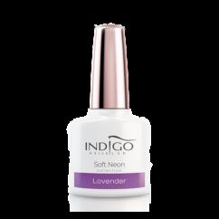 Lovender Indigo lakier hybrydowy z kolekcji Soft Neon