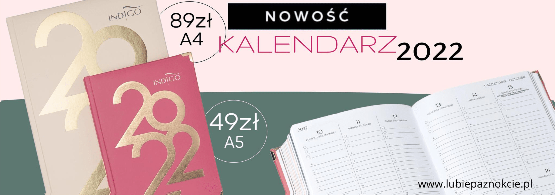 kalendarz 2022 indigo